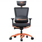 Кресло компьютерное игровое Cougar ARGO Black-Orange [3MERGOCH.0001]