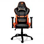 Кресло компьютерное игровое Cougar ARMOR One Black-Orange [3MARONXB.0001]