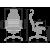 """Кресло Метта """"Samurai"""" KL-3.03 бежевый"""