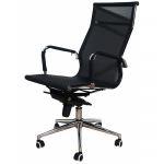 Компьютерное кресло MF-1901 черное (сетка/ткань)