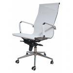 Компьютерное кресло MF-1901 белое (сетка/ткань)