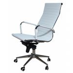 Компьютерное кресло MF-1903 белое (экокожа)