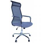 Компьютерное кресло MF-2021 серое (сетка/ткань)