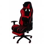 Кресло игровое MFG-6016 черное/красное (экокожа)