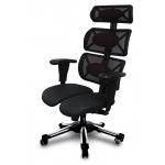 Компьютерное кресло Hara Chair Doctor спинка сетка, сиденье экокожа