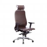 Кресло Метта Samurai K-3.04 темно-коричневый