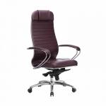 Кресло Метта Samurai KL-1.04 темно-бордовый