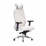 Кресло Метта Samurai KL-3.04 Белый Лебедь