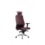 Кресло Метта Samurai KL-3.04 темно-бордовый