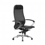Кресло Метта Samurai S-1.04 черный плюс