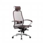 Кресло Метта Samurai S-2.04 темно-коричневый