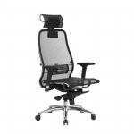 Кресло Метта Samurai S-3.04 черный
