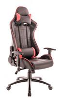 Кресло Everprof Lotus S10 Экокожа Черный/Красный