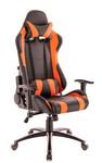 Кресло игровое Everprof Lotus S2 экокожа черный/оранжевый