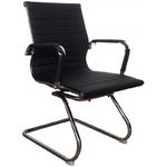 Офисный стул MF-1904 черный (кожзам)