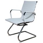 Офисный стул MF-1904 белый (кожзам)