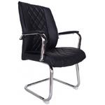 Офисный стул MF-720BS черный (экокожа)