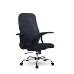 Компьютерное кресло Метта S-CP-8 (x2) CH черное, двойная сетка