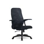 Компьютерное кресло Метта S-CP-8 (x2) PL черное, двойная сетка