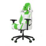 Кресло компьютерное игровое Vertagear S-Line SL4000 White/Green