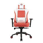 Кресло компьютерное игровое ZONE 51 СПАРТАК ЛЕГЕНДА, White-Red